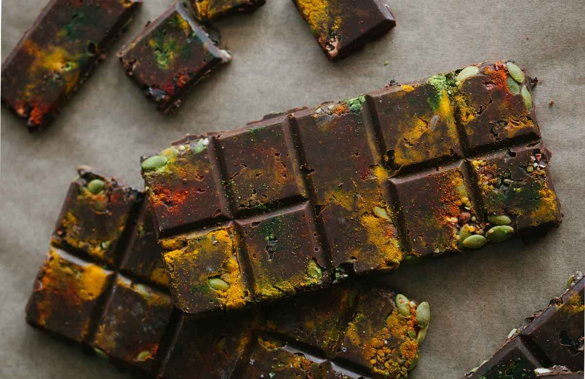 Almost Savory Raw Chocolate