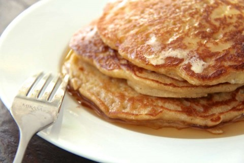 """""""In the Flow"""" Apple Pancakes (Gluten- and Dairy-Free)"""
