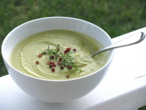 Broccoli and Apple Soup