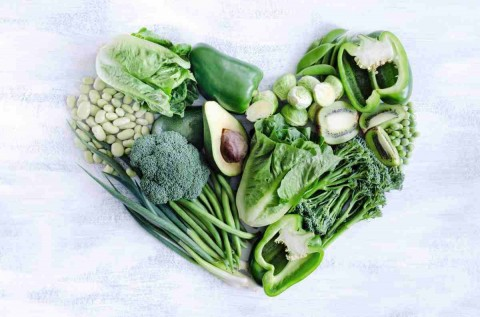 Expand your heart with green foods