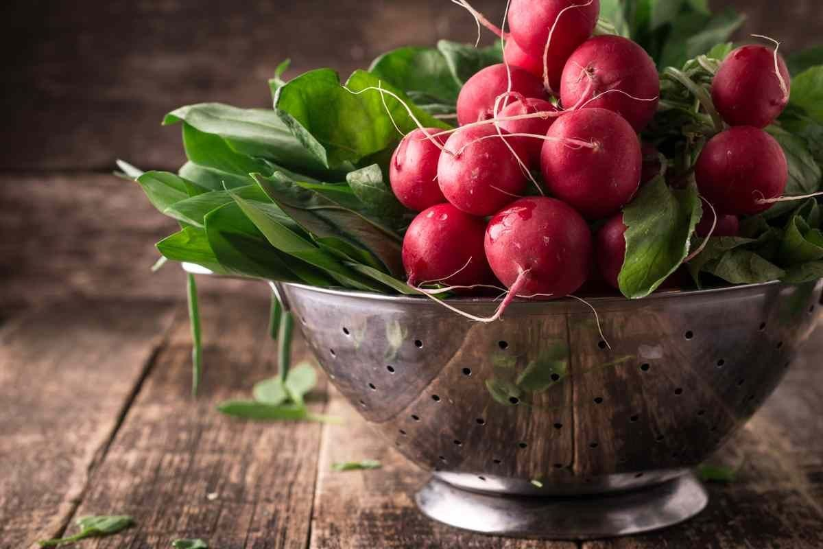 Be still my heart: Radishes!