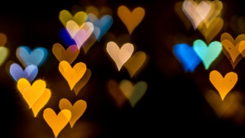multicolored-bokeh-made-of-blurred-lights-picture-id862066394
