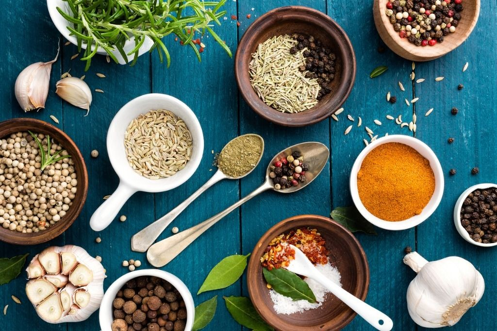 Dial up the flavor AND health! Incorporate more fresh herbs & spices