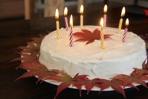 Happy Birthday Applesauce Cake