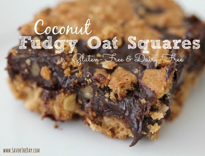 How Much Courage Does It Take to Live Your Dreams? (Plus: Coconut Fudgy Oat Squares recipe)