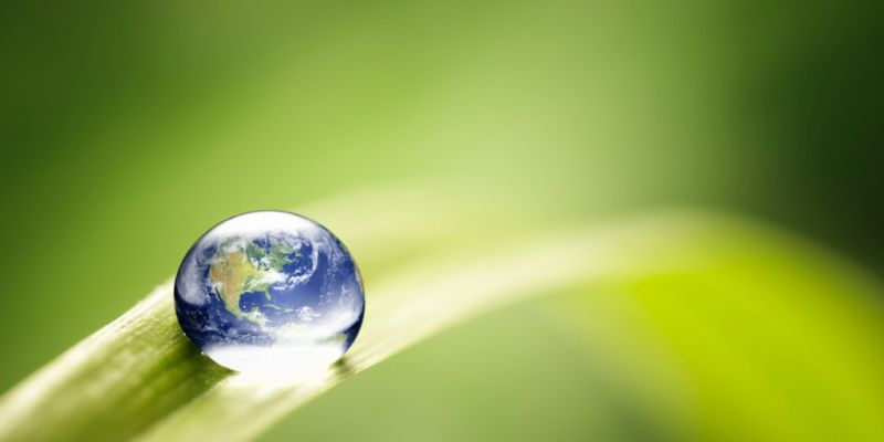 world-in-a-drop-nature-environment-green-water-earth-picture-id125143761