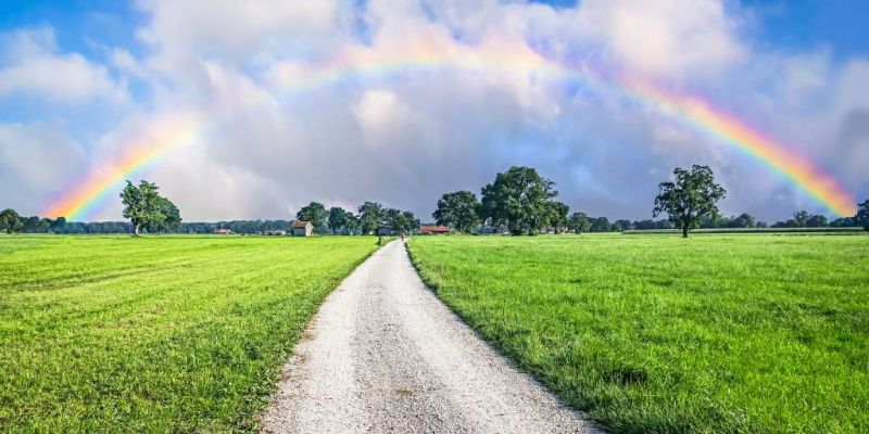 road-to-the-rainbow-picture-id1193144986