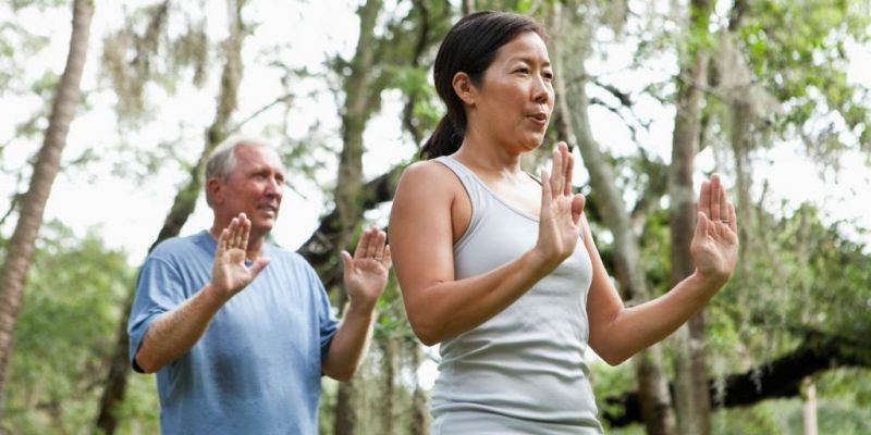 Stretching for Enlightenment: Benefits of Yoga and Tai Chi