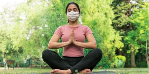 quarantine-meditating